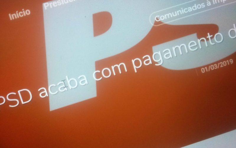 Militâncias   PSD termina com pagamento de quotas massivo