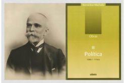 Ler | 'Obras – Política III – Tomo 7, 1ª parte' de Bernardino Machado