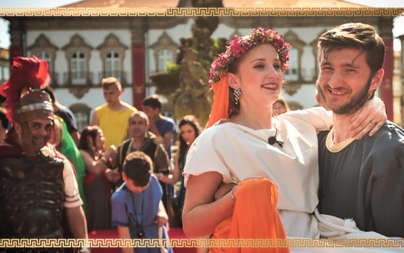 Viver | 'Casamento Romano' revive Bracara Augusta