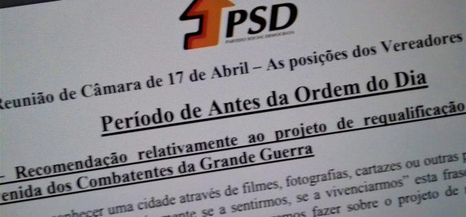 PSD – Barcelos | Obras na Av. dos Combatentes são foco de preocupação e apresentam pontos de discordãncia