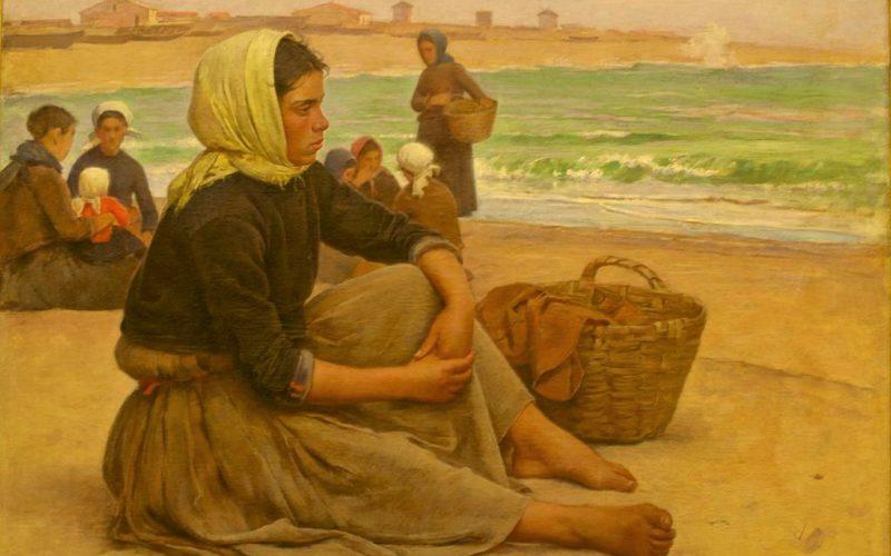 Pintura | Estudo para 'À espera dos barcos' de Marques de Oliveira é motivo de conferência de Maria Assunção Lemos