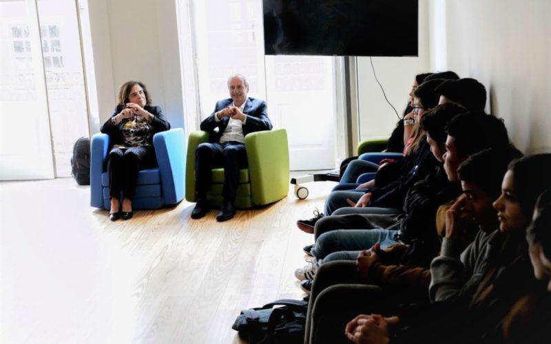 Participar | Domingos Bragança e Adelina Pinto encontram-se com jovens no âmbito da Semana Europeia da Juventude