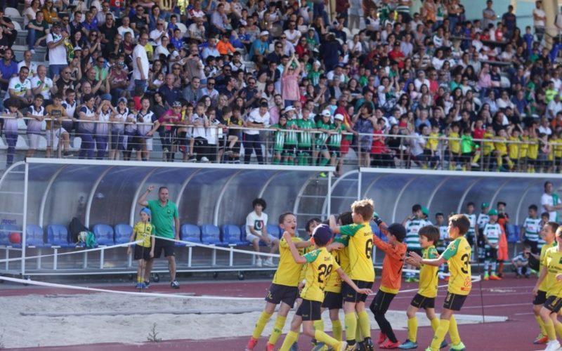 Futebol | Envolvência e alegria na 'Liga Mini' de Guimarães