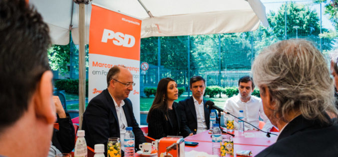 PSD Famalicão | Sofia Lobo, com José Manuel Fernandes: PSD marca a diferença, também na juventude