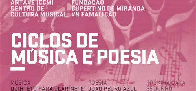 FCM | João Pedro Azul e Quarteto de Cordas Artave complementam-se no 'Ciclo de Música e Poesia' de maio