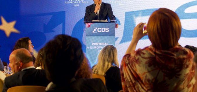 CDS-PP   Nuno Melo: Eu quero ser um português na Europa e não um europeu em Portugal