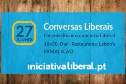Conversar | Carlos Guimarães Pinto da Iniciativa Liberal em Famalicão para 'Desmistificar o conceito Liberal'
