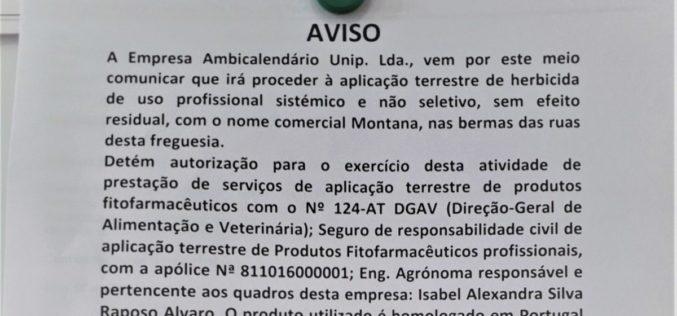 PAN – Famalicão | Partido político não entende por que se continua a utilizar o Glifosato nas ruas de Famalicão