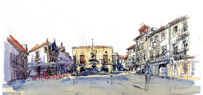 Viana | Desenhos do Alto Minho: Sketching com História