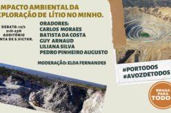 Lítio | Impacto ambiental da exploração do minério no Minho é tema de sessão de esclarecimento em Braga
