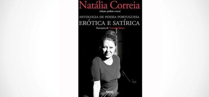 Livros | Antologia de Poesia Portuguesa Erótica e Satírica de Natália Correia reeditada