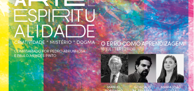 Conferência | 'O Erro como Aprendizagem' em Serralves