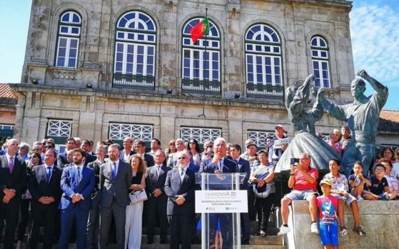 Mobilidade | António Costa: Papel da ferrovia é decisivo na internacionalização da economia e neutralidade carbónica
