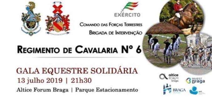 Solidariedade | Regimento de Cavalaria 6 realiza Gala Equestre Solidária no Altice Forum
