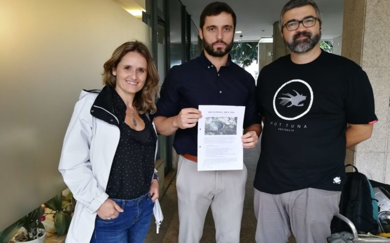 Lítio | Movimento Anti-Lítio de Braga reúne com PAN e Aliança