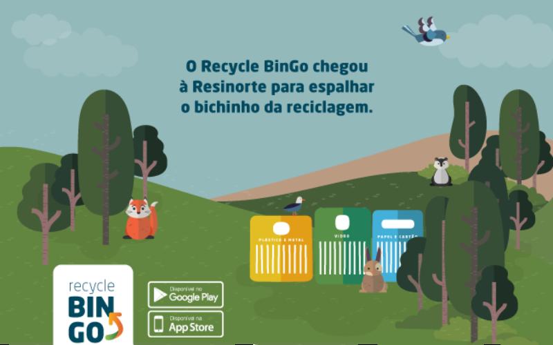 Reciclagem | Resinorte oferece prémios a quem reciclar através do uso de aplicação para telemóvel