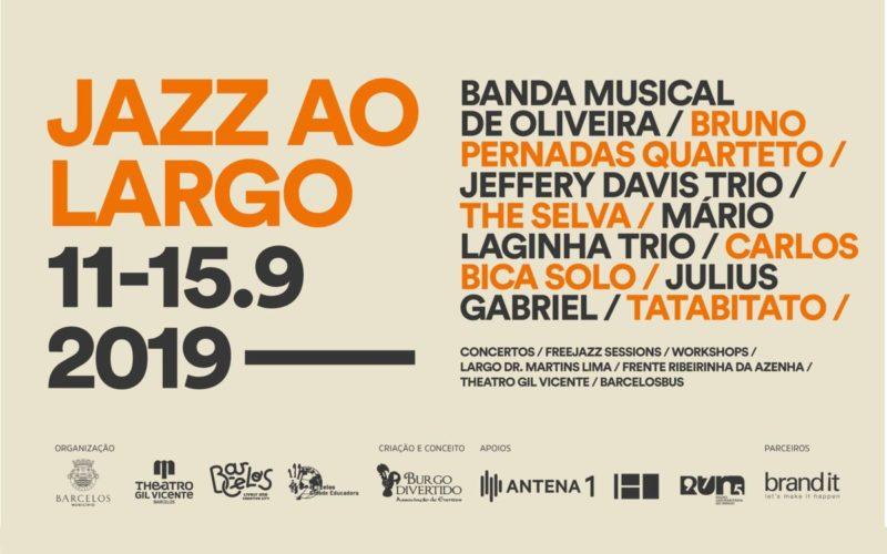 Música | Jazz ao Largo inunda Barcelos em Setembro
