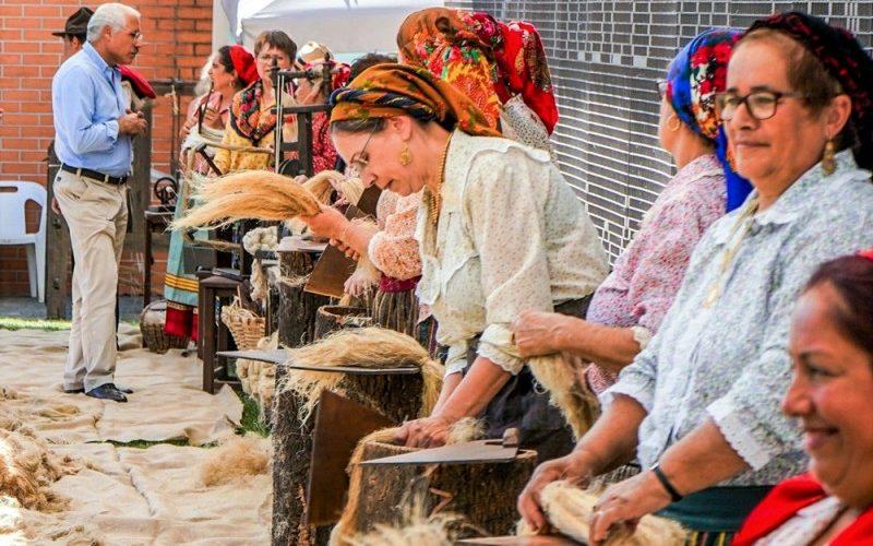 Tradição | Vila Verde recria espadeladas do linho