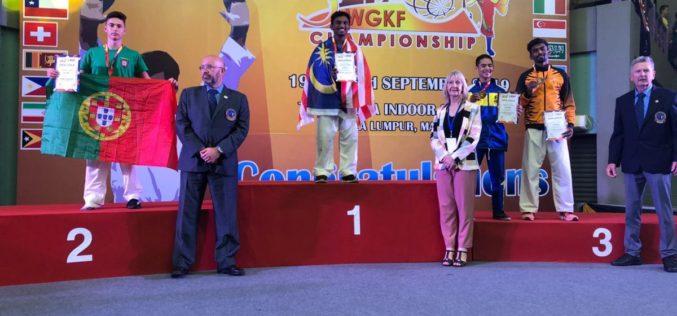 Karaté | Joninhas Vilar sagra-se vice-campeão do mundo de Karate Goju-Ryu