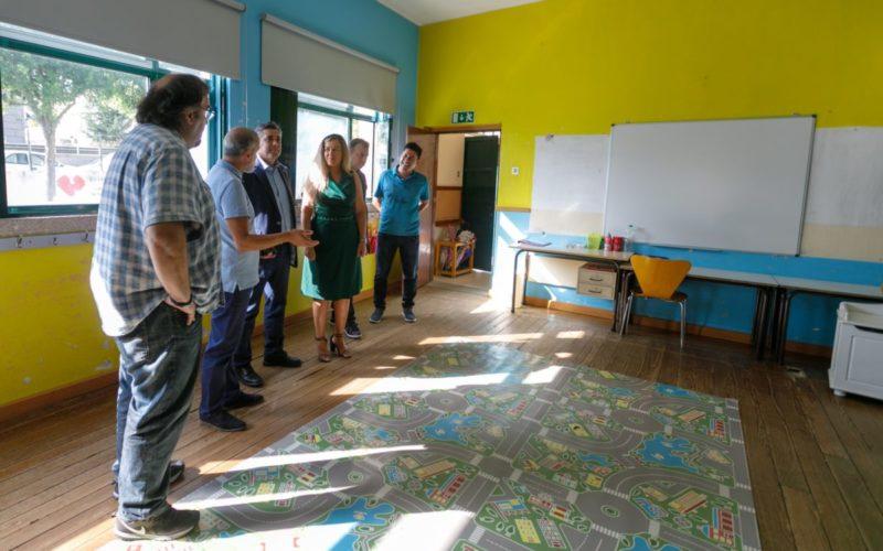 Ensino   Santo Tirso investe 300 mil euros na remodelação da EB1 da Lage