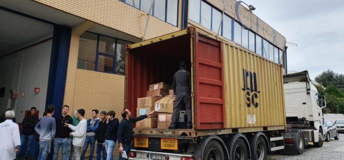 Solidariedade | CIOR culmina campanha de solidariedade com escola congénere moçambicana com envio de bens