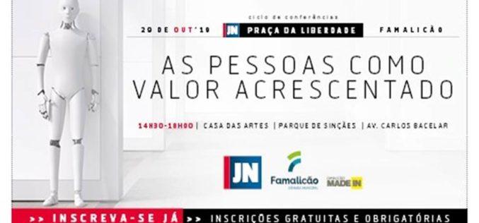 Conferência | 'As pessoas como valor acrescentado' em debate na Casa das Artes de Famalicão