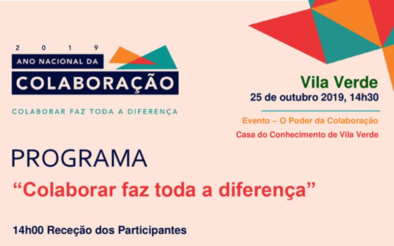 Comunidade | Casa do Conhecimento de Vila Verde acolhe 'O Poder da Colaboração'