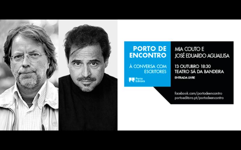 Literatura | Mia Couto e José Eduardo Agualusa encontram-se no Porto de Encontro