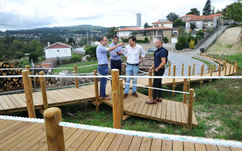 Obras municipais | Arranjo de espaço público destinado a lazer é mais-valia para Priscos