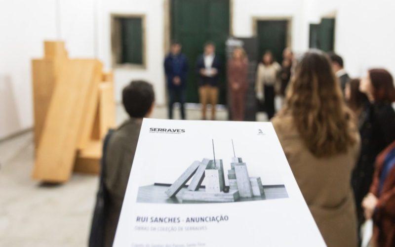 Escultura | Rui Sanches apresenta 'Anunciação' em Santo Tirso