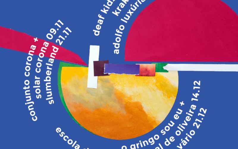 Música | Krake + Adolfo Luxúria Canibal prometem surpreender Barcelos em mais uma edição do 'triciclo'