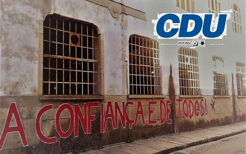Património | CDU garante que Ricardo Rio poderia ter reabilitado a Confiança