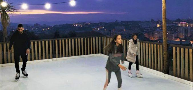 Animação | Ver Braga a partir da pista de gelo do Picoto