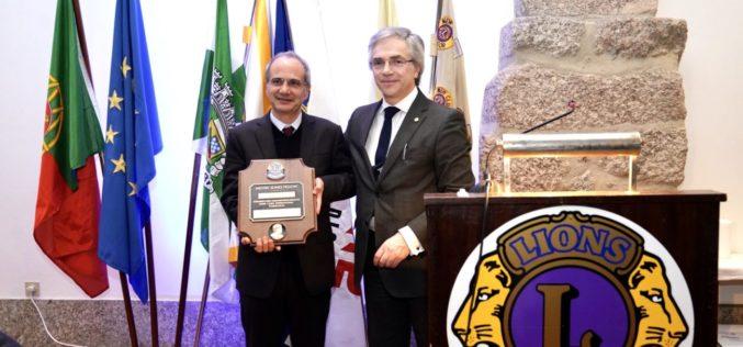 Reconhecimento | Lions Clube de Guimarães homenageia Domingos Bragança