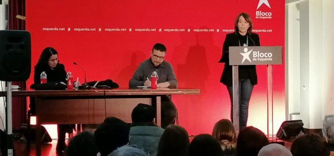 Orçamento | Catarina Martins esteve em Braga para apresentar e discutir visão do Bloco de Esquerda