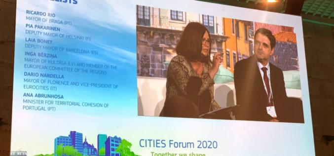Urbanismo | Ricardo Rio: É preciso que as cidades tenham maior capacidade de intervenção na política europeia