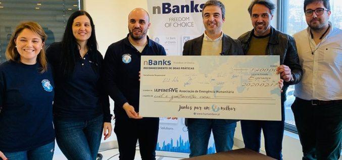 Solidariedade | HumanitAve recebe apoio do nBanks