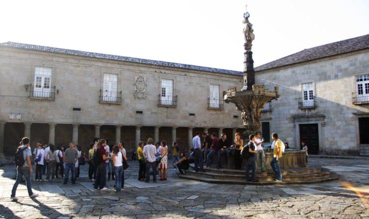 Reitoria da UMinho, no Largo do Paço, Braga