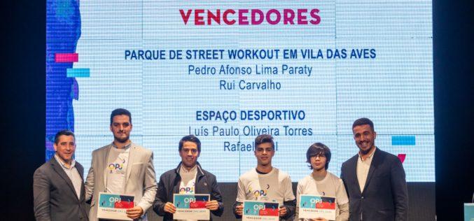 Cidadania | Street Workout e Espaço Desportivo vencem OPJ 2019 de Santo Tirso