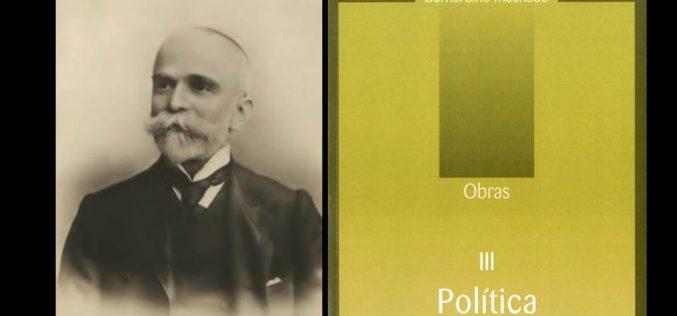 Livros | Museu lança novo volume da Obra Política de Bernadino Machado