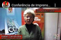 Coronavírus | Isabel Camarinha considera fundamental manutenção dos rendimentos dos trabalhadores