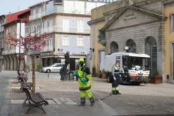 Coronavírus | Barcelos higieniza ruas da cidade
