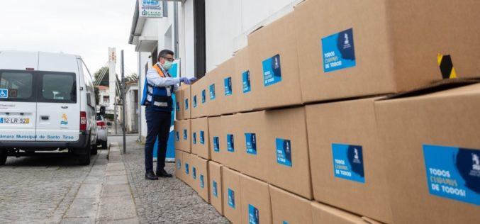 Coronavírus | Santo Tirso entrega 500 kits de proteção a lares e instituições
