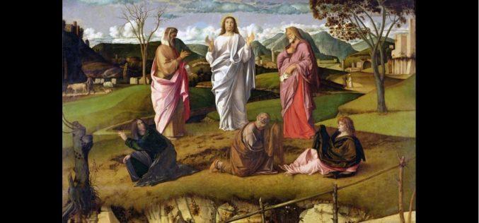 Espiritualidade | A Transfiguração de Jesus: A Iluminação como encontro entre o Céu e a Terra