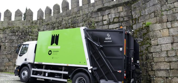 Ambiente | Guimarães recolhe resíduos e mantém higiene urbana apesar de medidas para mitigar o surto de Covid-19