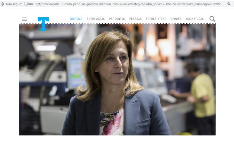 ITV   Isabel Furtado pede ação estratégica ao Governo