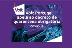 Coronavírus | Volt Portugal exige quarentena obrigatória