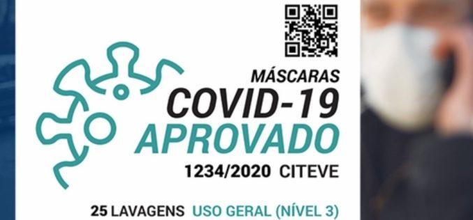 Coronavírus | CITEVE atribui selo 'Máscaras – COVID-19 Aprovado'
