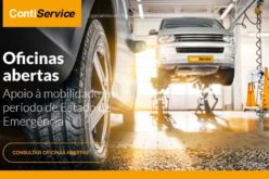 Serviços   Rede ContiService da Continental Pneus não para no apoio à mobilidade