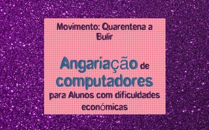 Coronavírus | Quarentena a Bulir: Computadores, procuram-se!